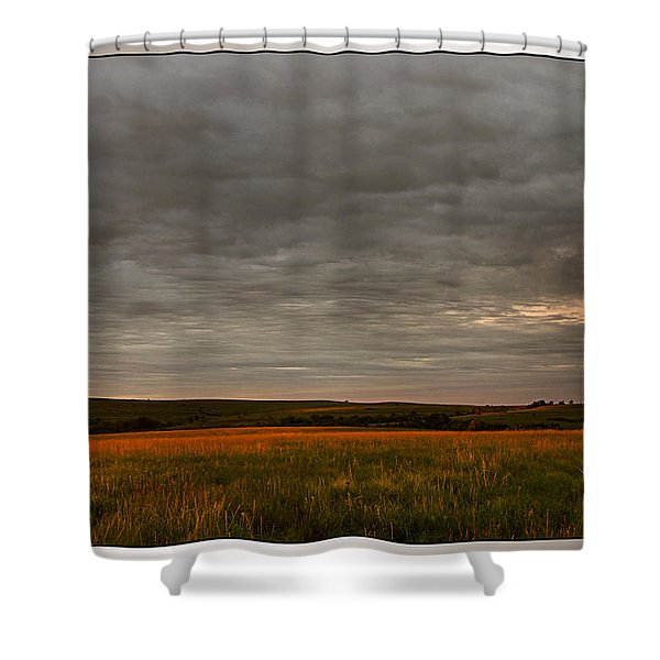 Kansas Sunrise Shower Curtain
