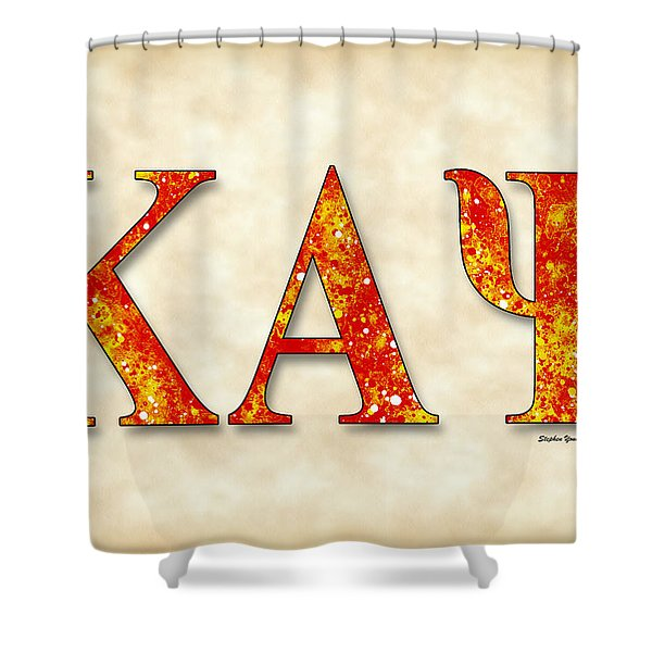 Kappa Alpha Psi - Parchment Shower Curtain