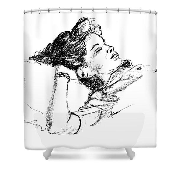 Karen's Nap Shower Curtain