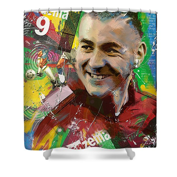 Karim Benzema Shower Curtain