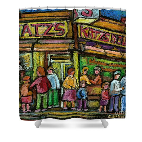 Katz's Deli Shower Curtain