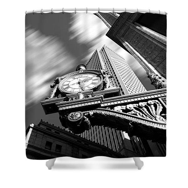 Kaufmann's Clock Shower Curtain