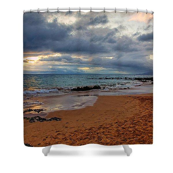 Keawakapu Beach Shower Curtain