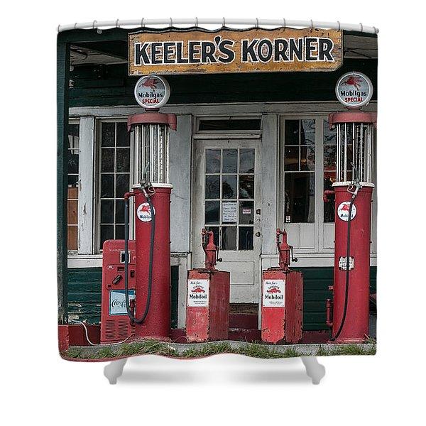 Keeler's Korner IIi Shower Curtain