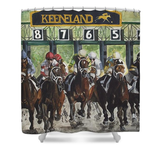 Keeneland Shower Curtain