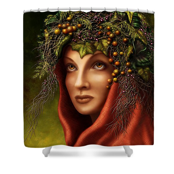 Keeper Of The Woods Shower Curtain
