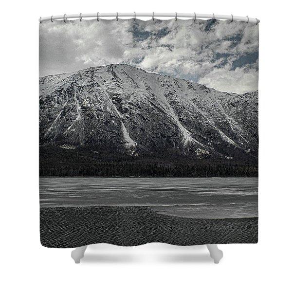Kenai Lake Shower Curtain