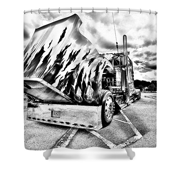 Kenworth Rig Shower Curtain