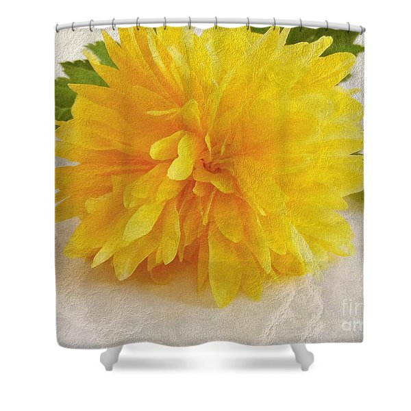 Kerria Japonica Shower Curtain