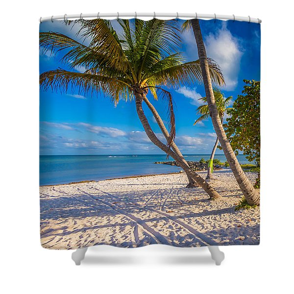 Key West Florida Shower Curtain