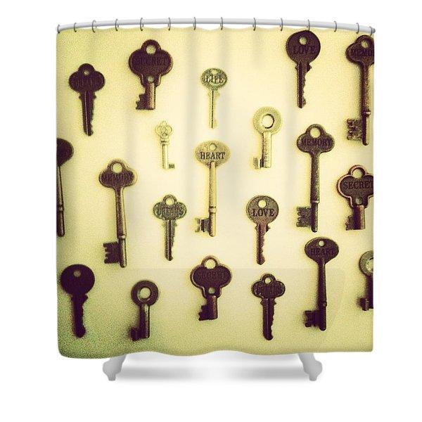 Keys Shower Curtain