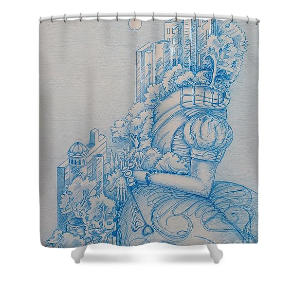 Keys To The City Shower Curtain