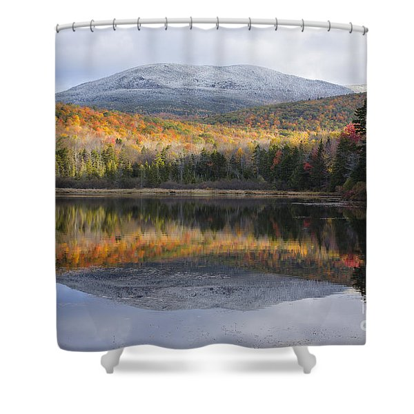 Shower Curtain featuring the photograph Kiah Pond - Sandwich New Hampshire by Erin Paul Donovan