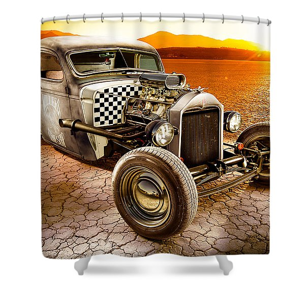Millers Chop Shop 1946 Chevy Truck Shower Curtain