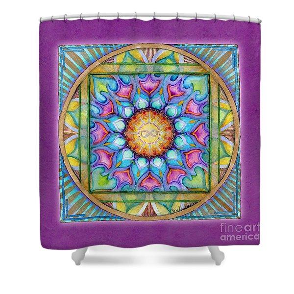 Kindness Mandala Shower Curtain