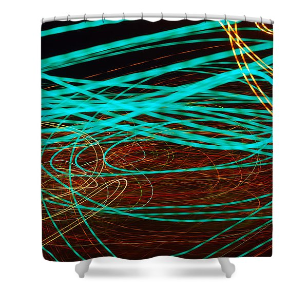 Kinetic Shower Curtain