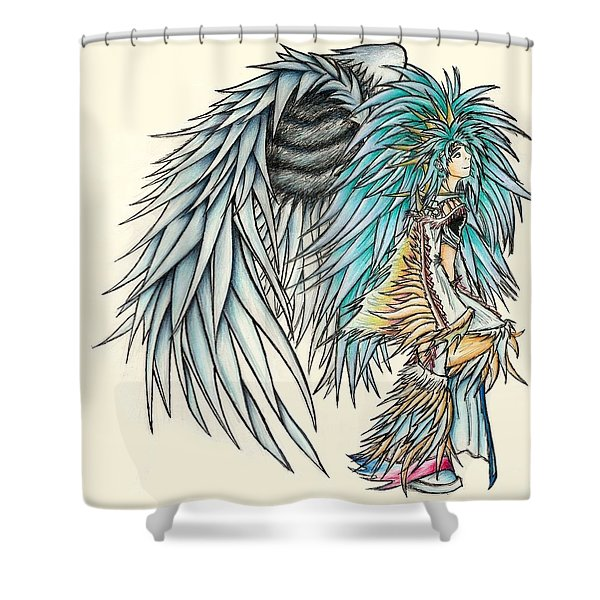 King Crai'riain Shower Curtain