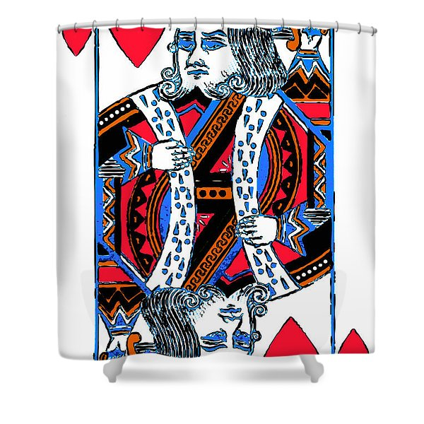 King Of Hearts 20140301 Shower Curtain