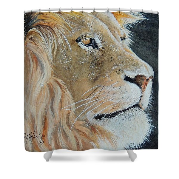 King Of The Forest.  Sold Shower Curtain