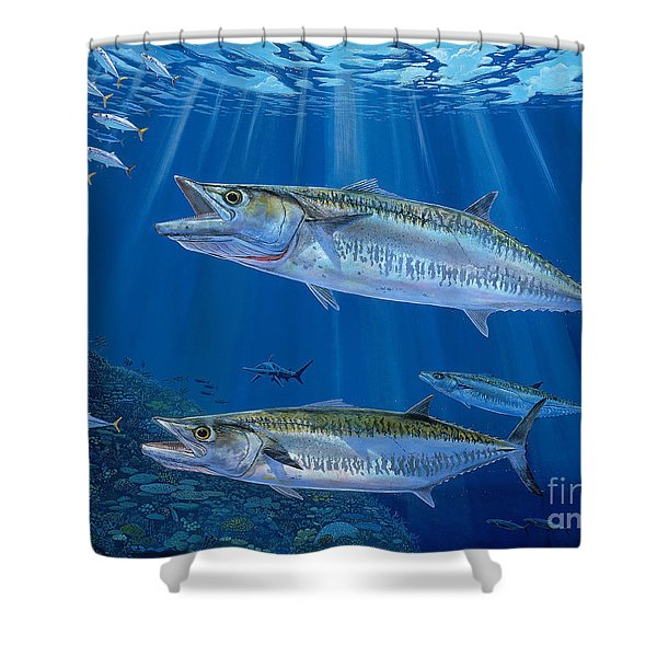 Kingfish Reef Shower Curtain