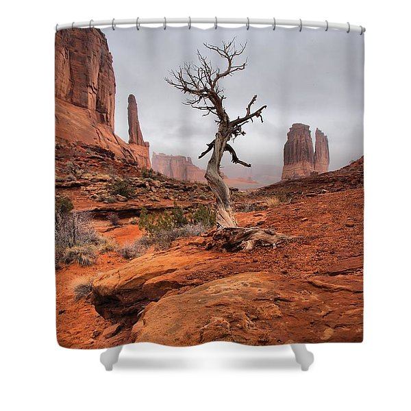 King's Tree Shower Curtain