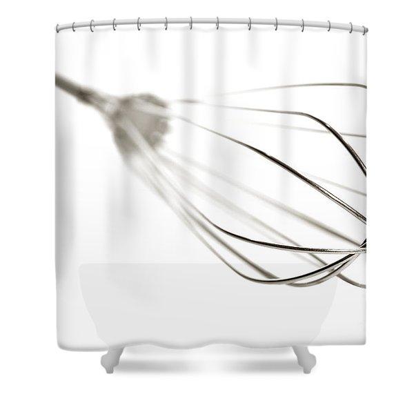 Kitchen Whisk Shower Curtain
