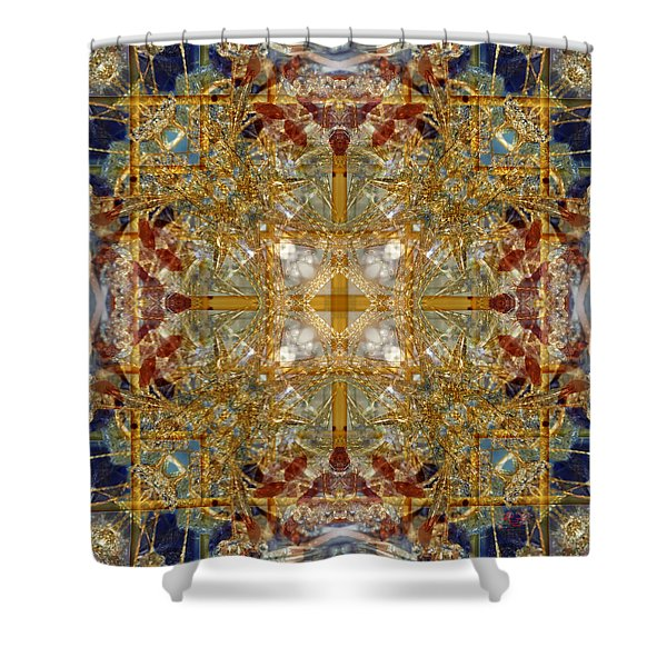 Knots Xii Shower Curtain