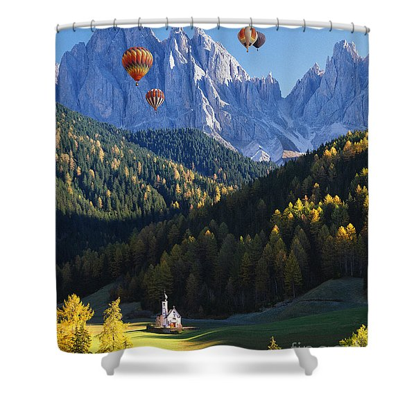 Know No Bounds Shower Curtain