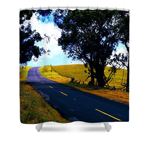 Kohala Mountain Road  Big Island Hawaii  Shower Curtain