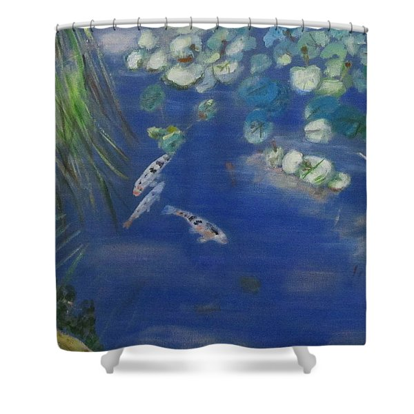 Koi At Red Butte Gardens Shower Curtain