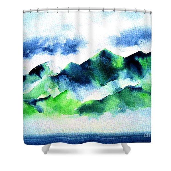 Komohana Shower Curtain