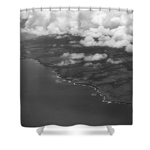 Kona And Clouds Shower Curtain
