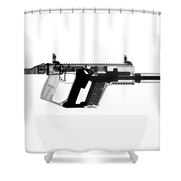 Kriss Vector X-ray Photograph Shower Curtain