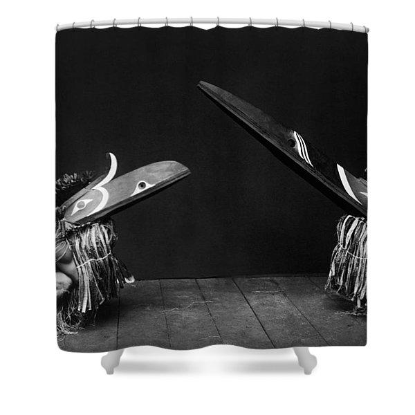 Kwakiutl Indians Circa 1914 Shower Curtain