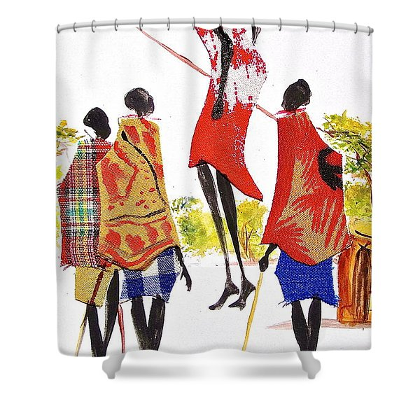 L 104 Shower Curtain