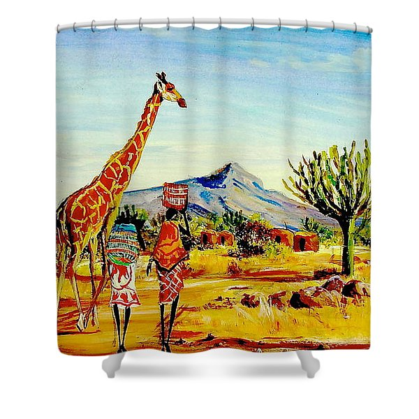 L 78 Shower Curtain