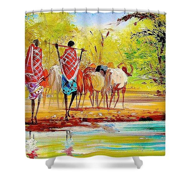 L 98 Shower Curtain