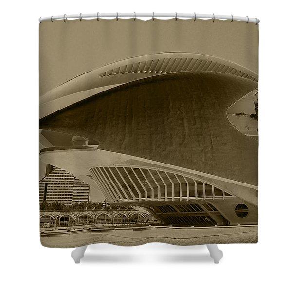 L' Hemisferic - Valencia Shower Curtain