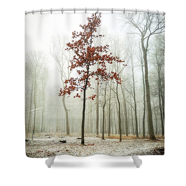 I Keep My Dress On Shower Curtain