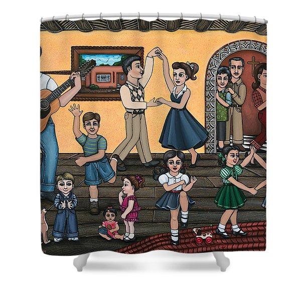 La Bamba Shower Curtain