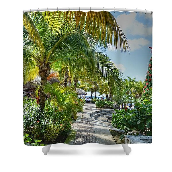 La Isla Bonita Shower Curtain