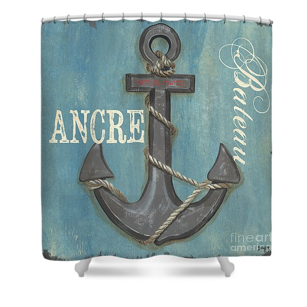 La Mer Ancre Shower Curtain
