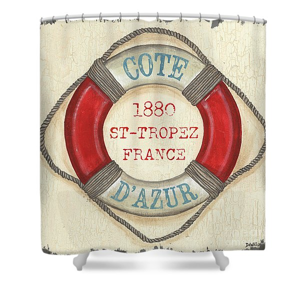 La Mer Cote D'azur Shower Curtain