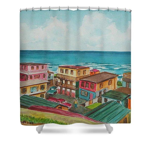La Perla San Juan Pr Shower Curtain