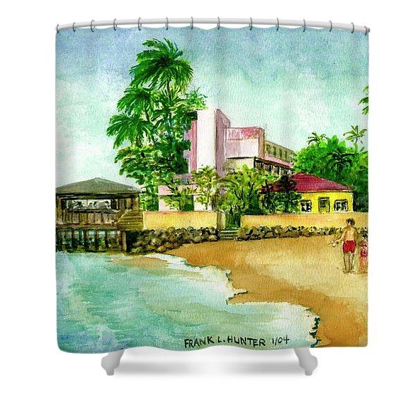 La Playa Hotel Isla Verde Puerto Rico Shower Curtain