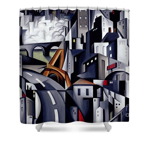 La Rive Gauche Shower Curtain