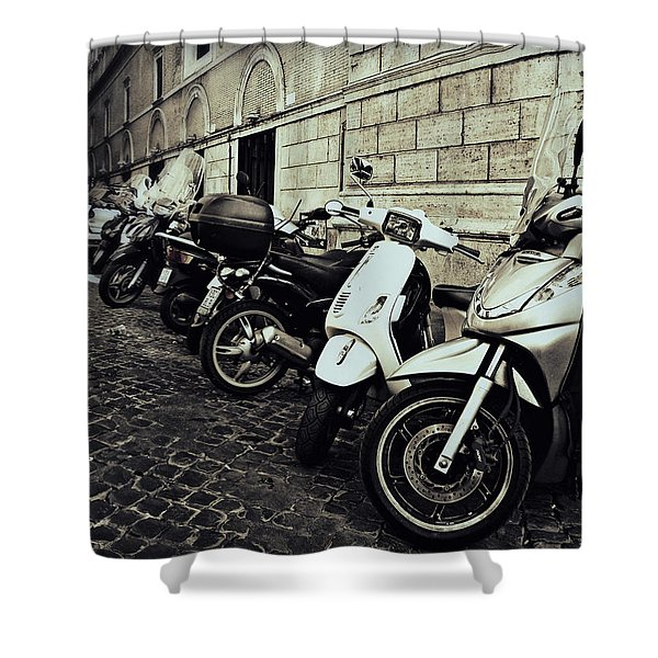 La Terra Di Moto Shower Curtain