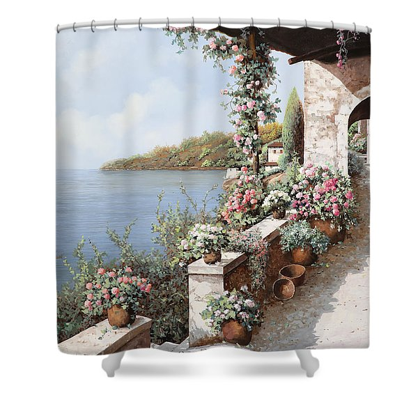 La Terrazza Shower Curtain