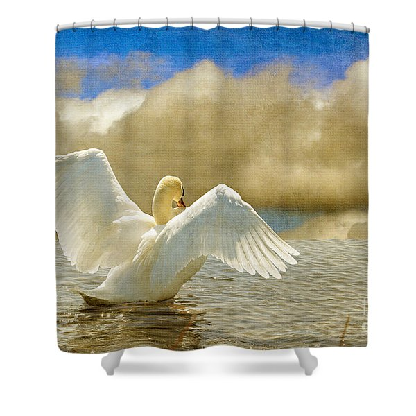 Lady-in-waiting Shower Curtain