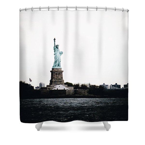 Lady Libery Shower Curtain